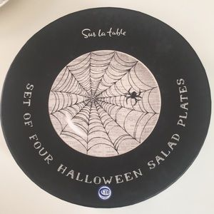 "👻 9"" Plates - Sur La Table HALLOWEEN (New w Box)"